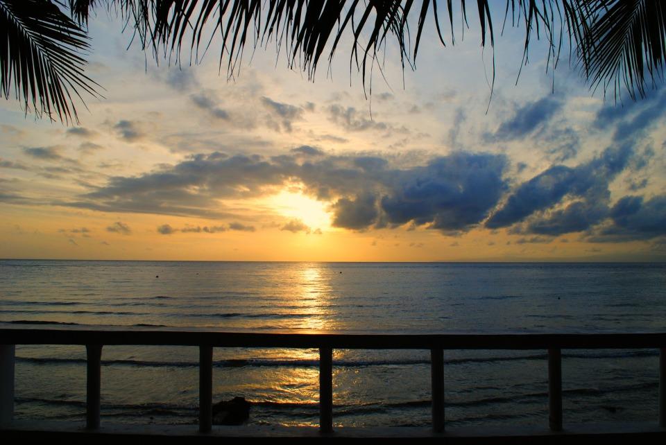 Sunrise in tan-awan, Oslob, Cebu.