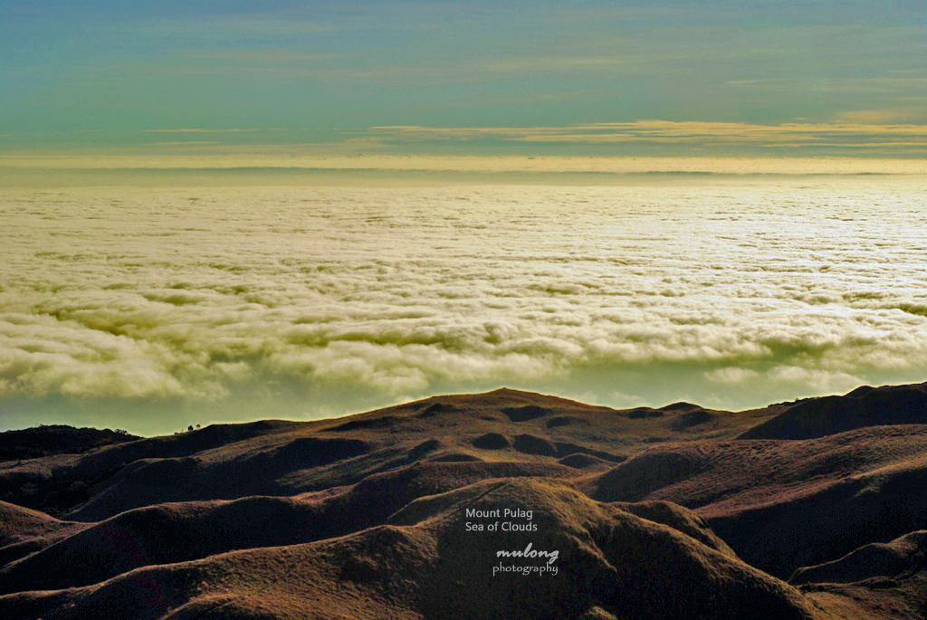 Mount Pulag's amazing sea of clouds.
