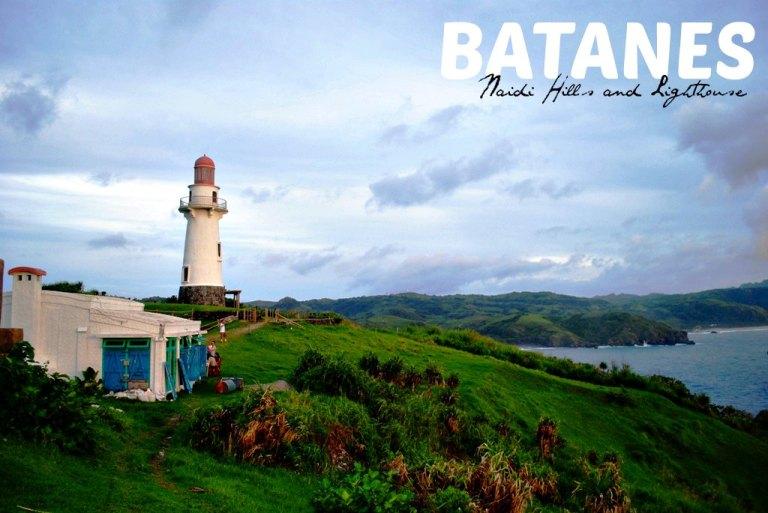 Naidi Hills and its lighthouse.