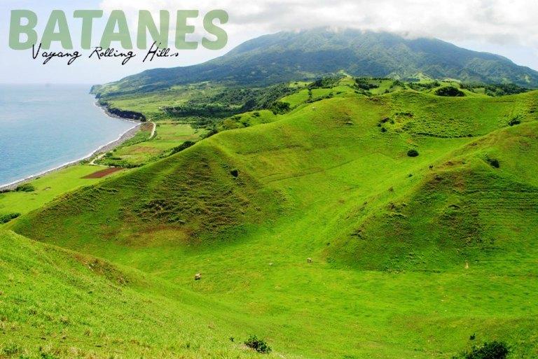 The verdant rolling hills of Vayang.
