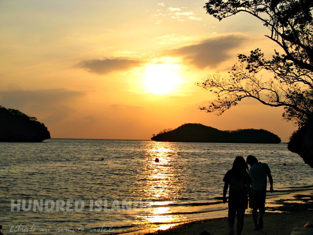 Hundred Islands Sunset