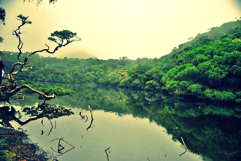 Truly magical, mystical lake of Kabayan.
