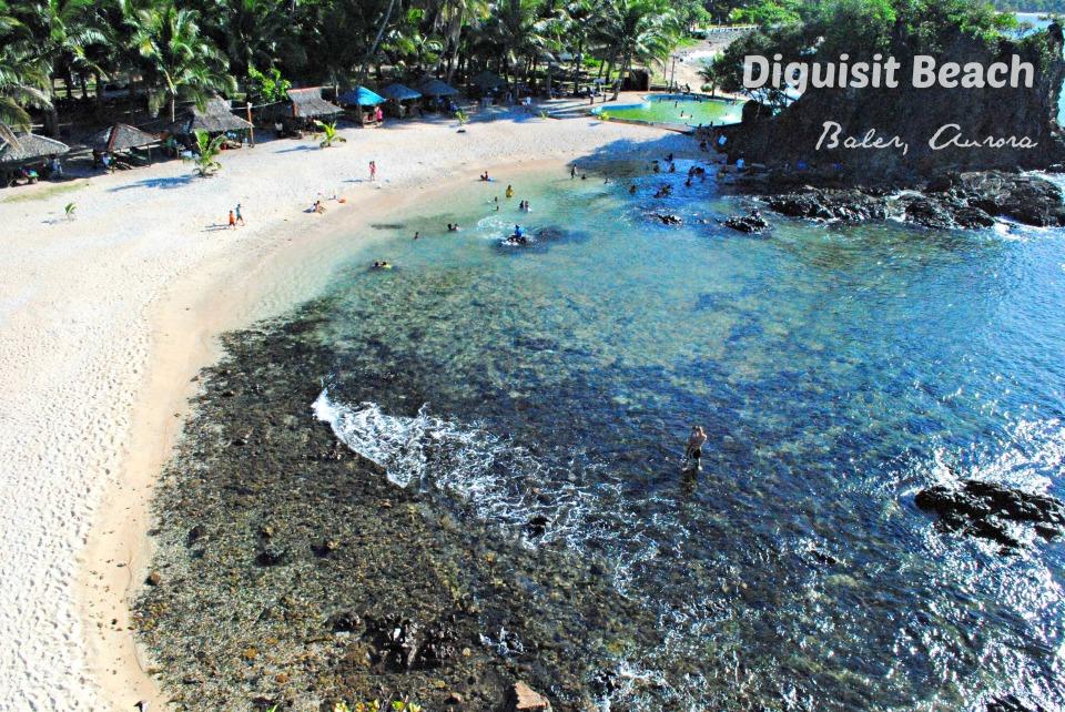 diguisit beach amp rock formations aurora ph no juan is