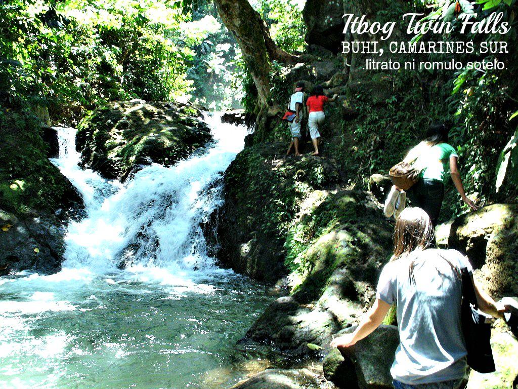 Itbog Twin Falls (Camarines Sur, PH)   No Juan Is An Island