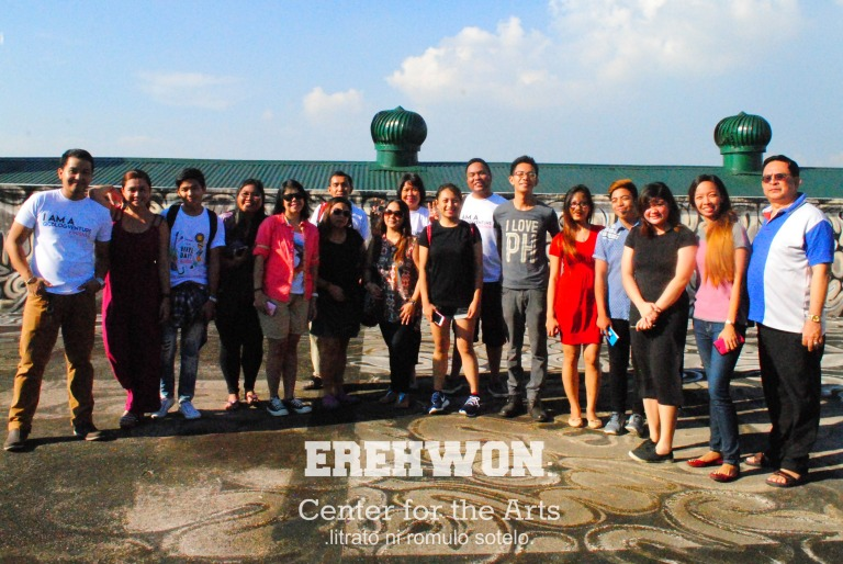 with my fellow QCblogventurers and staff of Erehwon.